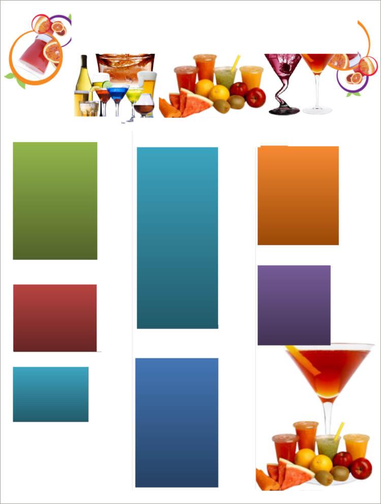 Menu Templates - Free PDF, Word Documents Download Creative Template - sample menu template