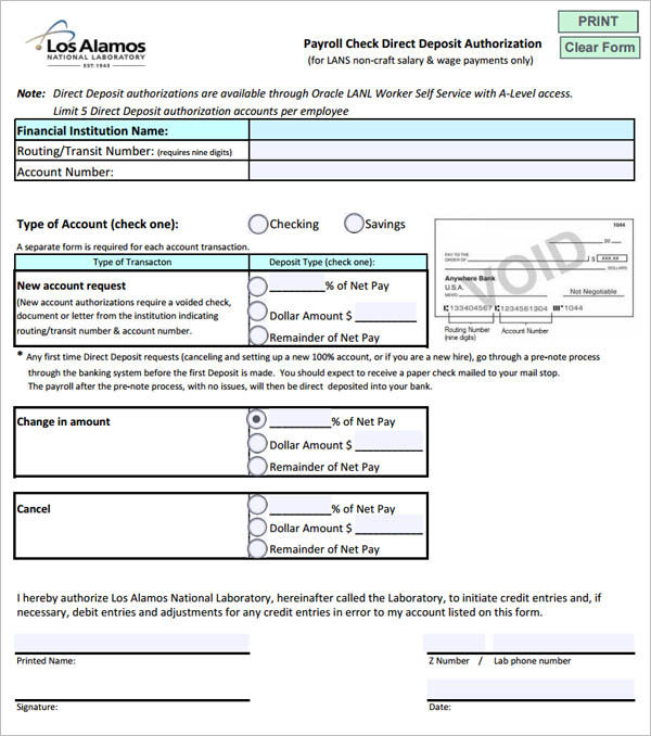 43+ Cheque Templates Free Word, Excel, PSD, PDF Formats - blank payroll form