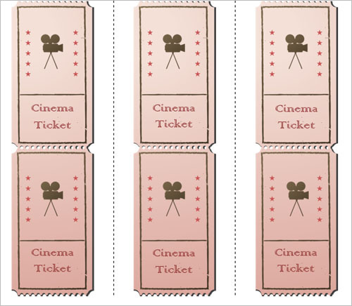 36+ Printable Movie Ticket Templates Free PSD, PDF, Excel Formats