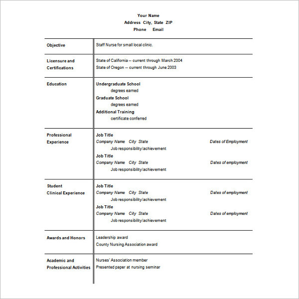 Microsoft Word 2007 Tutorial Part 00 Of 13 Resume Templates For Microsoft Word Free Templates