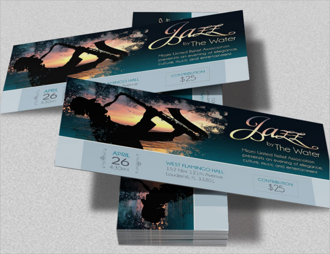 25+ Sample Dinner Ticket Templates Free Word, PSD Designs