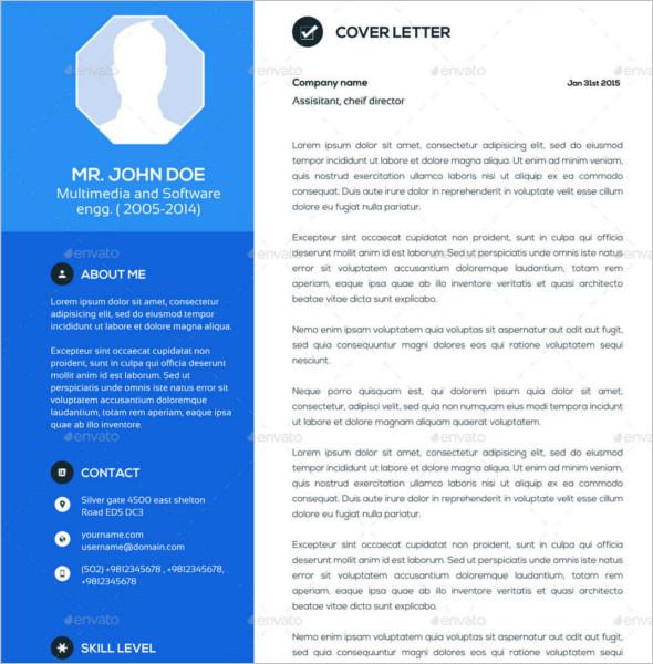 resume portfolio template pdf