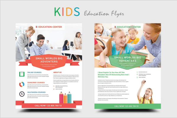 Free Educational Flyer Templates Costumepartyrun