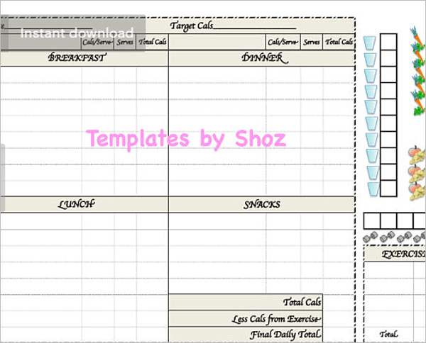 Weight Loss Charts Templates Image Collections Chart Graph Examples