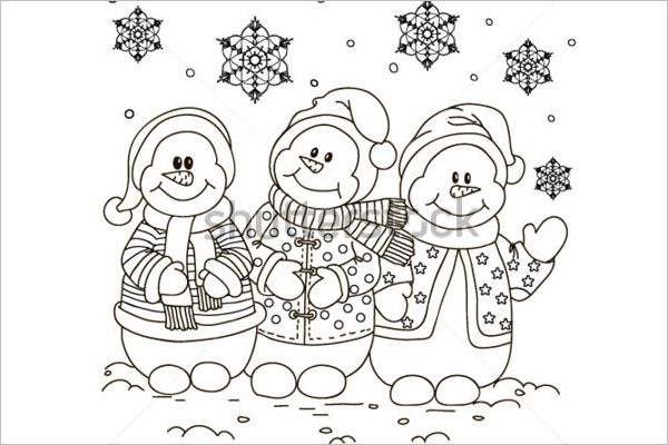 Disney Princess Christmas Coloring Pages - Costumepartyrun