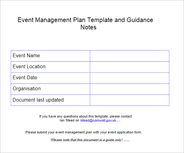 Event Concept Proposal Template Costumepartyrun