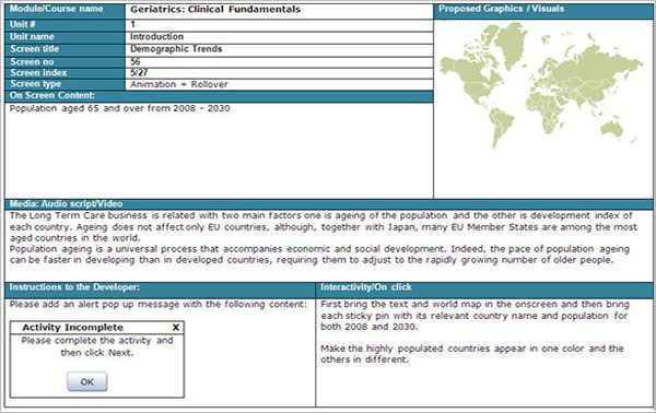 Clinical Website Storyboard Template \u2013