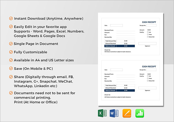 16+ Delivery Receipt Templates PDF, Word, DOC, Excel Samples