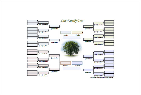 15+ Family Tree Diagram Templates PDF, Word, Excel Formats
