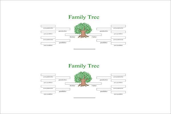 18+ 4 Generation Family Tree Templates Free Word, PDF Formats