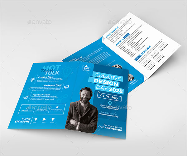 23+ Conference Brochure Templates Free PDF, Word,PSD Designs