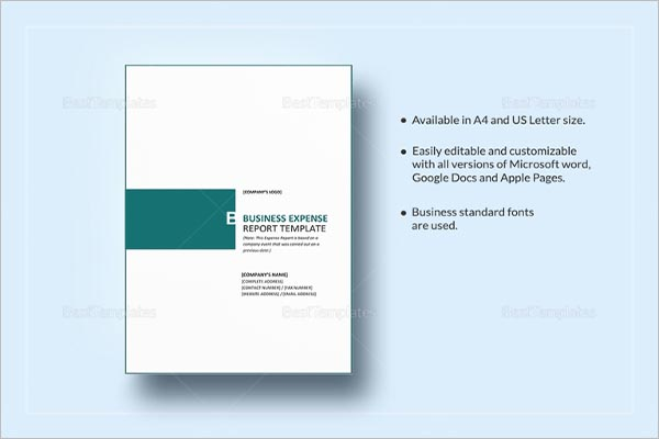 Business Annual Report Template | colbro.co