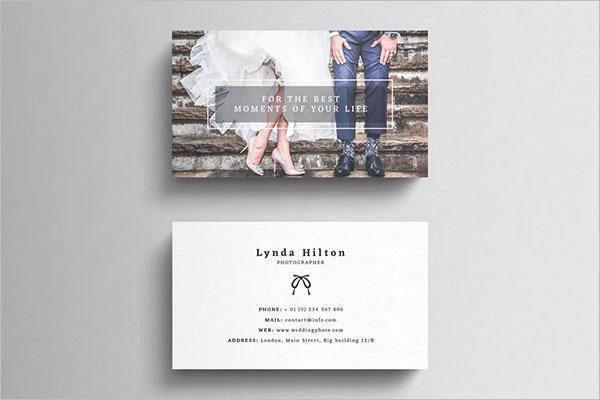 39+ Wedding Business Card Ideas Free Templates - Creativetemplate
