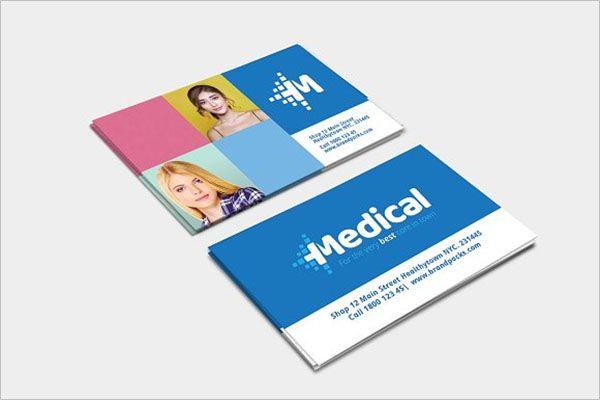Simple Clinic Business Card Template Creativetemplate