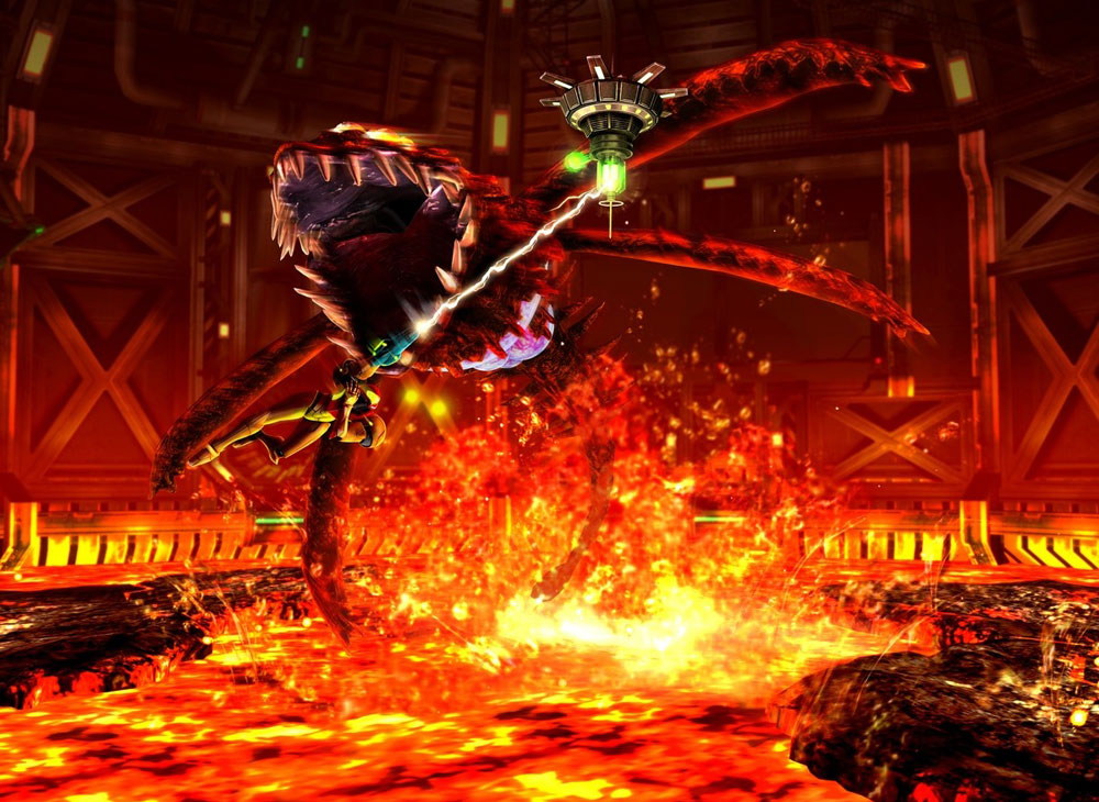 Anime Devil Wallpaper Lava Boss Characters Amp Art Metroid Other M