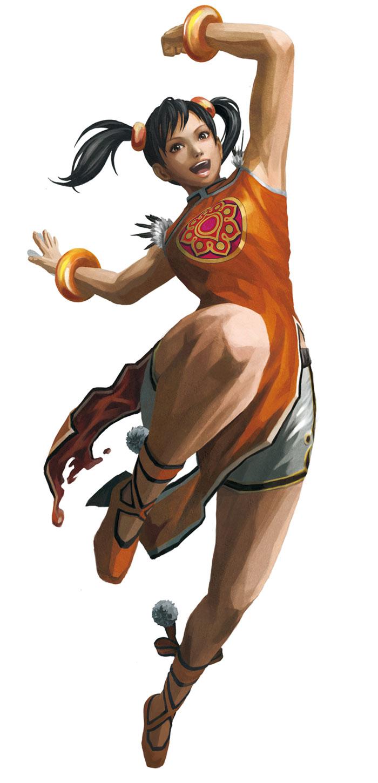 Girl With Basketball Wallpaper Ling Xiaoyu Characters Amp Art Street Fighter X Tekken