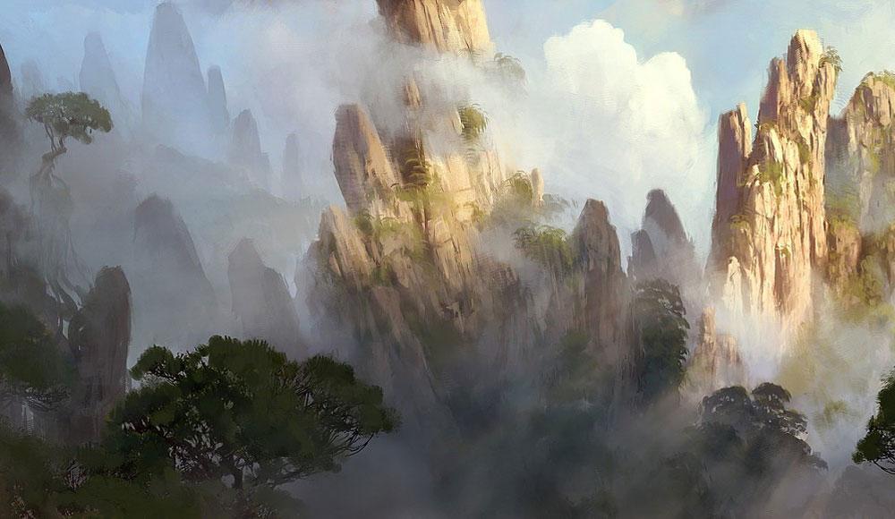 Wallpaper Hd King Mountain Landscape Characters Amp Art World Of Warcraft