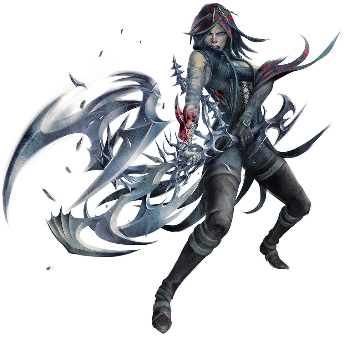 Badass Game Girl Wallpaper Sortiara Characters Amp Art Soul Sacrifice