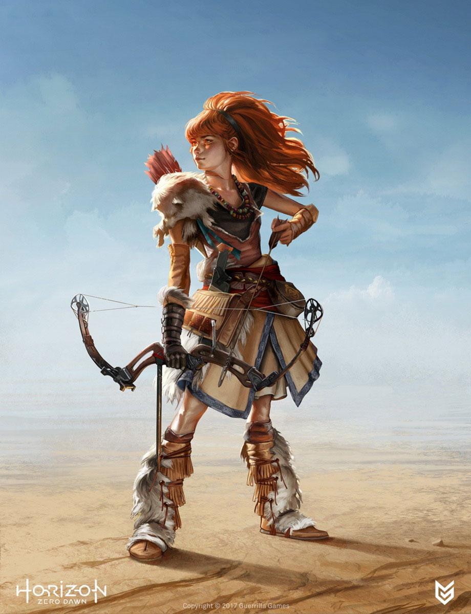 Final Fantasy Girl Wallpaper Aloy Characters Amp Art Horizon Zero Dawn