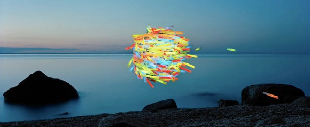 Floating sculptures by Thomas Jackson