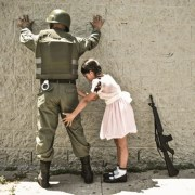 soldier arrested by girl