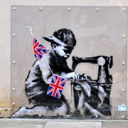 Banksy on Poundland