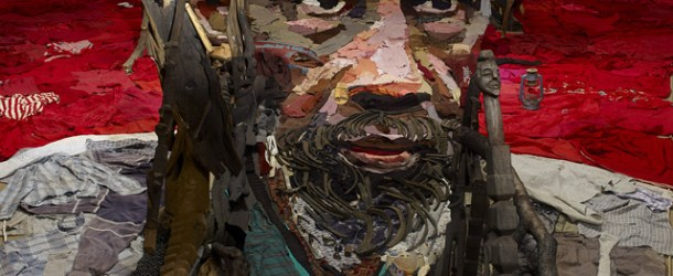 Anamorphic Portrait by Bernard Pras: An Entire Room of Objects