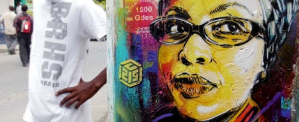 C215 New Street Art Pieces In Port-au-Prince, Haiti
