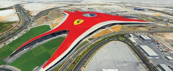 Ferrari World Theme Park in Abu Dhabi