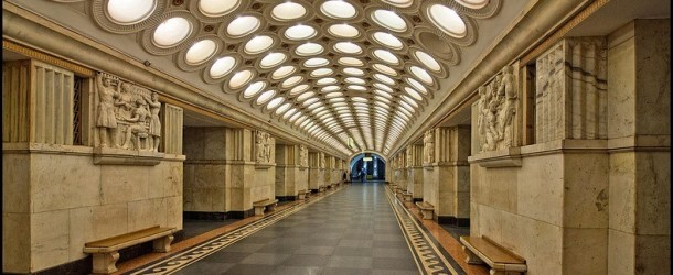 11 of Moscow's Most Beautiful Metro Stations