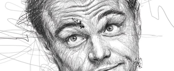 Celebrity Portraits Drawn using Scribbles