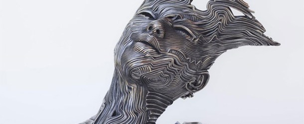 Stainless Steel Ribbon Sculptures by Gil Bruvel
