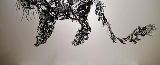 Hand Cut Single Sheet Paper Sculptures by Nahoko Kojima
