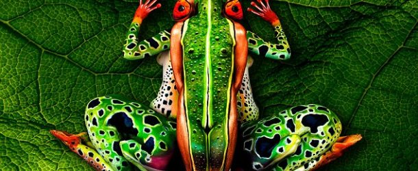 The Human Canvas – Amazing Body Paintings