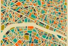 Modern Abstract City Maps