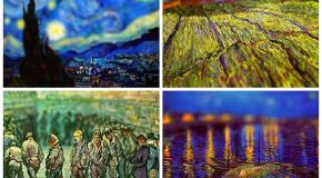 Van Gogh's Paintings Tilt-Shifted
