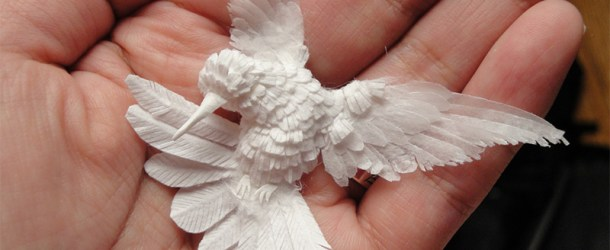Paper Hummingbirds by Cheong-ah Hwang
