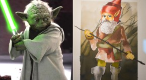 Famous Film Characters Compared to Their Early Concept Art