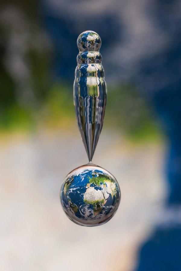 Falling Earth