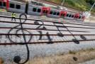 Railway Street Art by Bordalo II