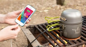 The Power Pot: A Fire Powered USB Charger