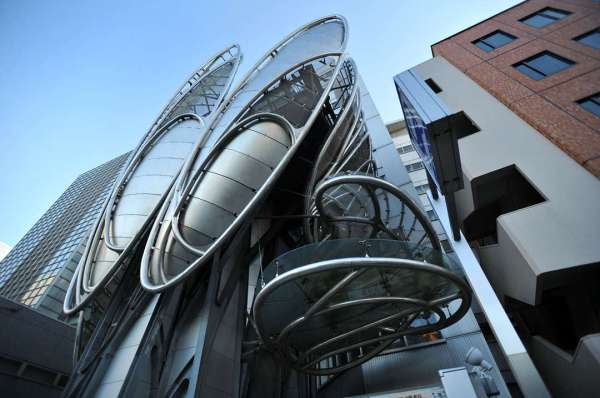 Experimental Japanese buildings 1