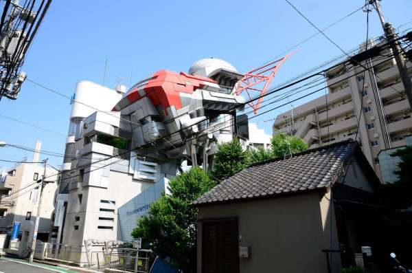 Experimental Japanese buildings 13