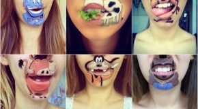 Make-up Artist Laura Jenkinson's Lip Art
