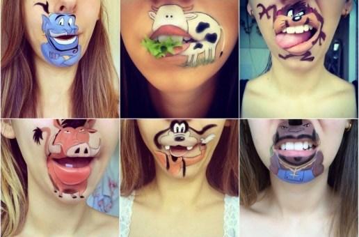 Make-up Artist Laura Jenkinson's Lip Art