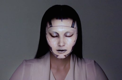 REAL-TIME FACE TRACKING & PROJECTION MAPPING