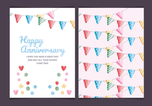 Anniversary Card Template - 21+ Free  Premium Download