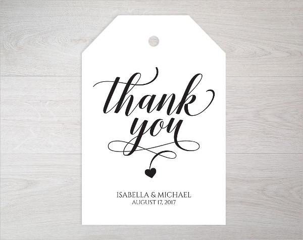 thank you tags template - Selol-ink