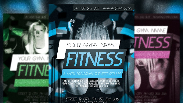 23+ Fitness Flyer Templates - Free  Premium Download - Fitness Templates Free