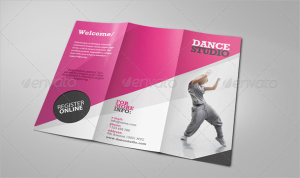 15+ Dance Studio Brochure Templates - Free  Premium Download - studio brochure
